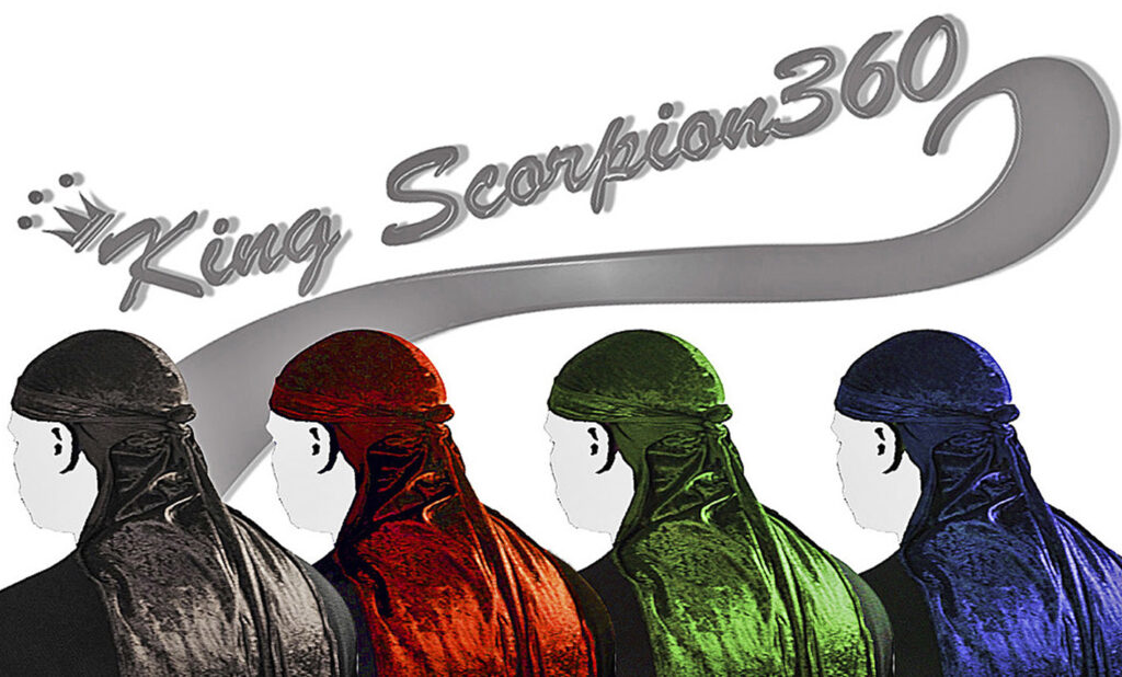 King Scorpion 360 Fatlace Durags